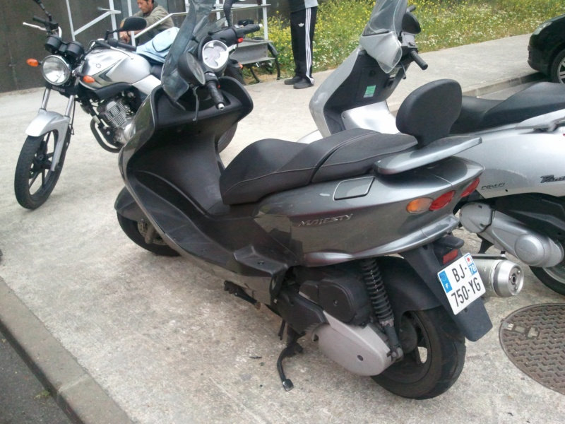 Vends MAJESTY 125 2007 16500 Kms Photo011