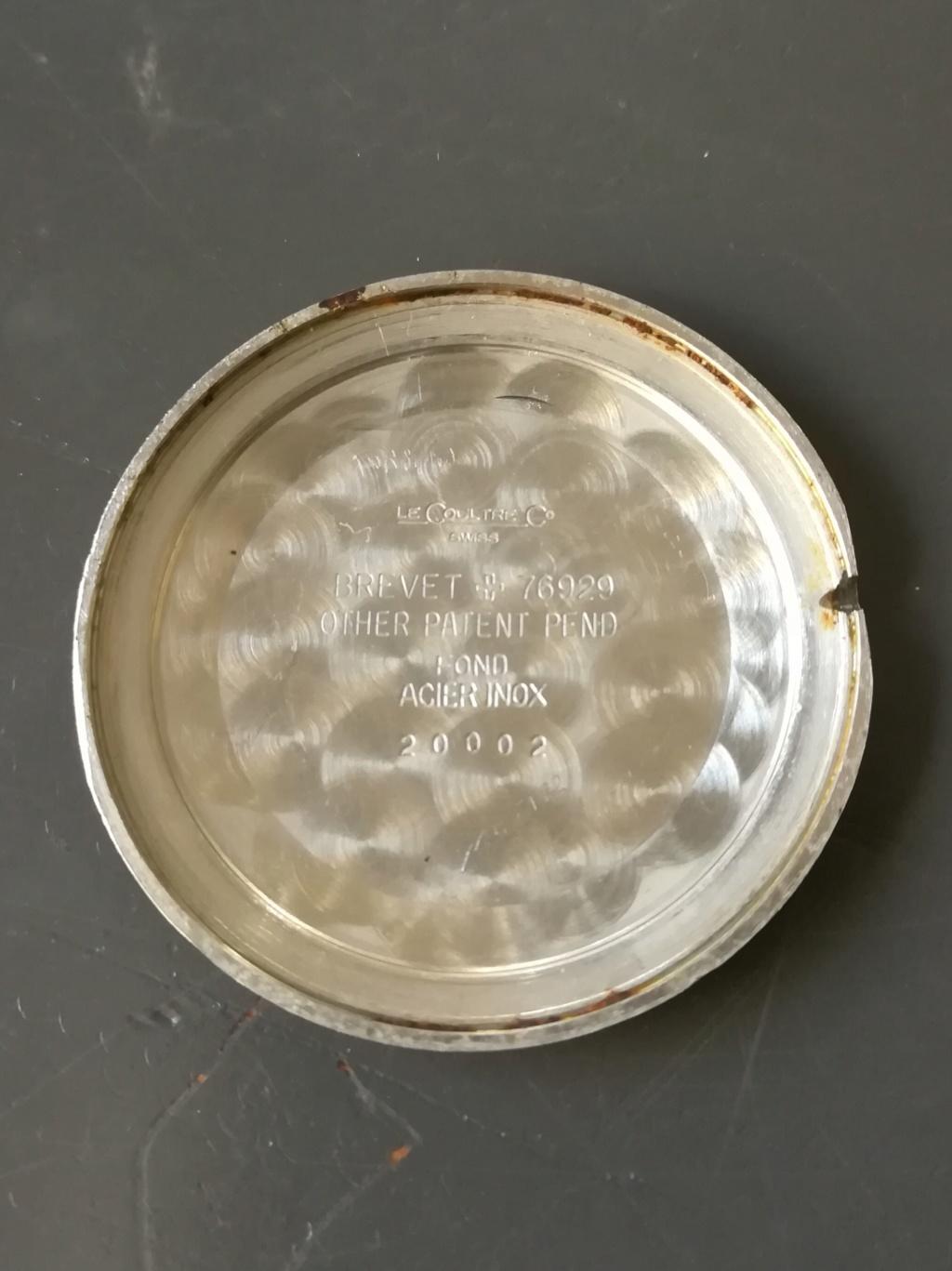 lecoultre - [VENDU] Jaeger Lecoultre mécanique années 60  : 590 euros Img_2202