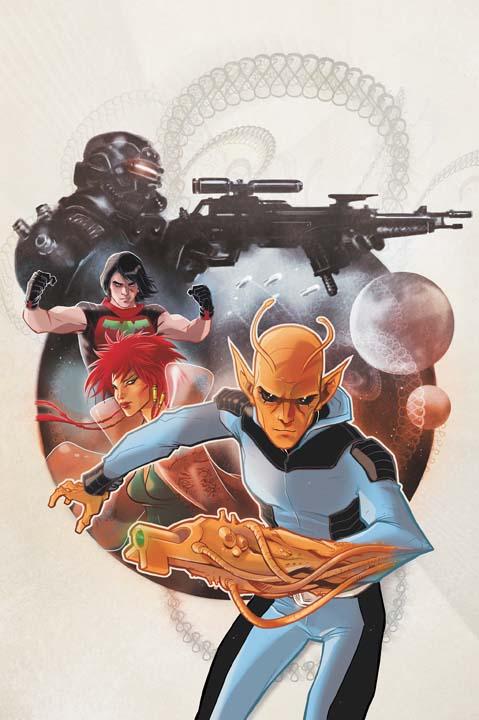 Legion of Superheroes [nouvelle série] Legion10