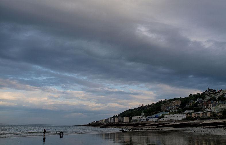 Ciel menaçant sur Le Havre Leheve10