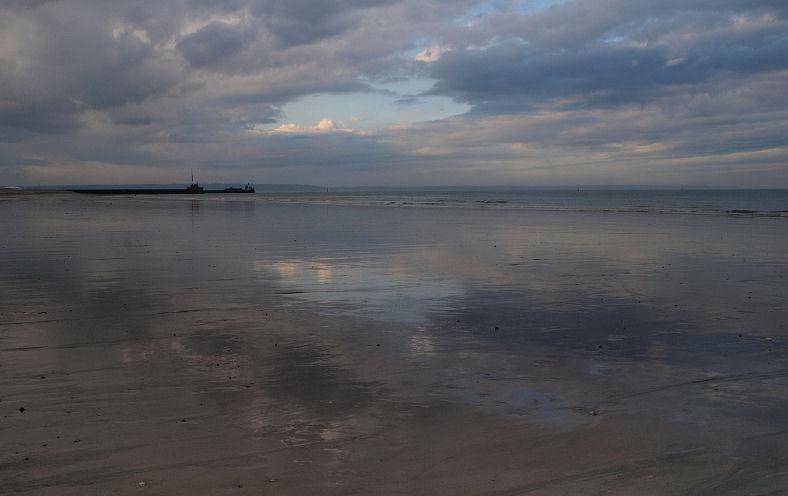 Ciel menaçant sur Le Havre Plage10