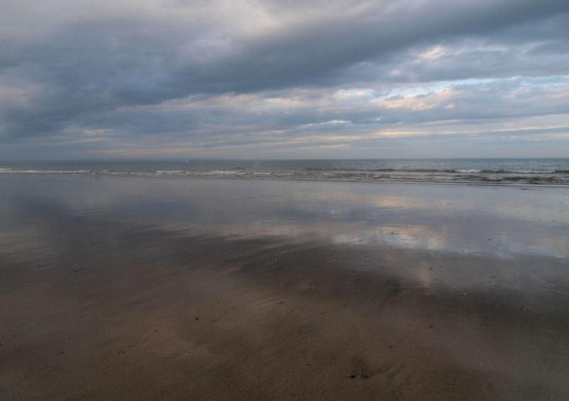 Ciel menaçant sur Le Havre Plage210