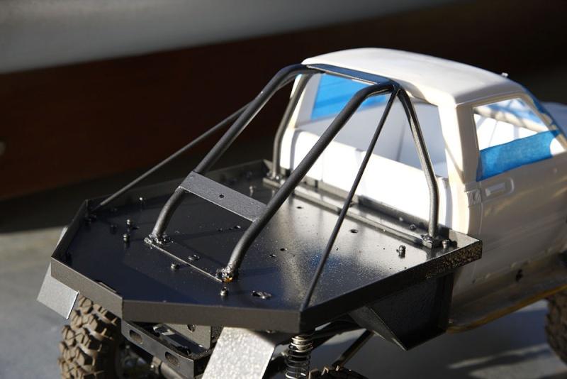 My Rig_SCX10 Honcho Chassis build Scx10_12