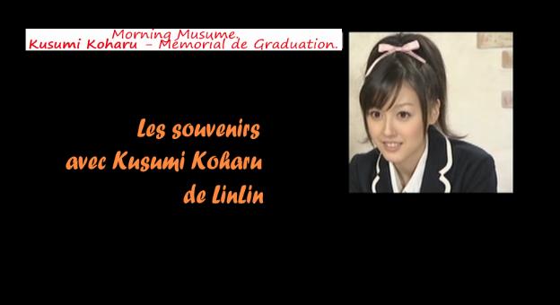 Kusumi Koharu - Graduation Memorial ( DVD )  - Page 4 Captur10