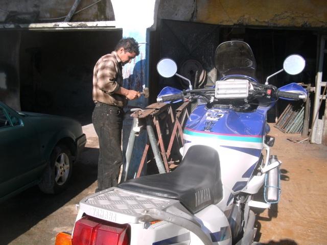 PLAQUE PORTE BAGAGE Maroc_22