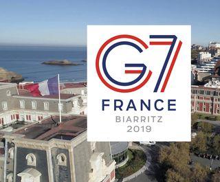 Le G7 à Biarritz,