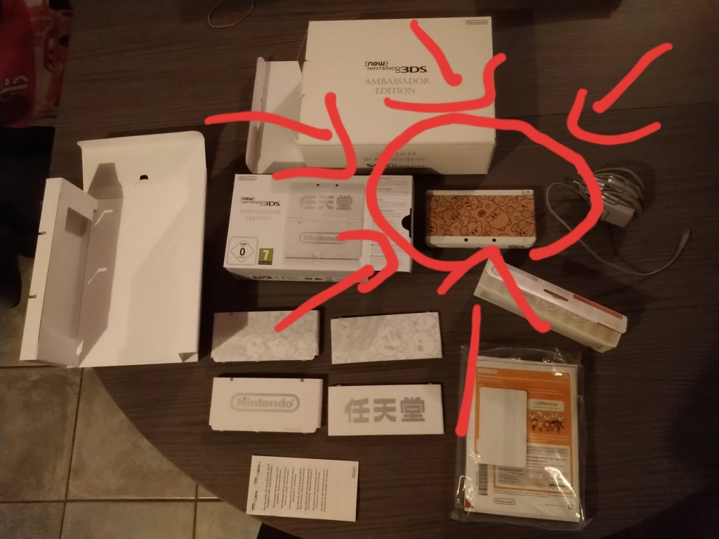 [Vds] Nintendo 3DS Ambassador complète  20191210