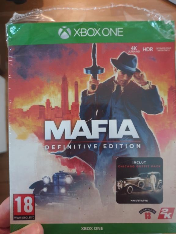 [Vds] Mafia definitive edition xbox one 25€ in 20200910