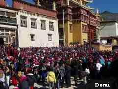 """La Chine sac au dos (9) : """"Treks des gorges du Tigre au Lugu Hu avec des copains du Club Alpin Paris »  Shang_11"""