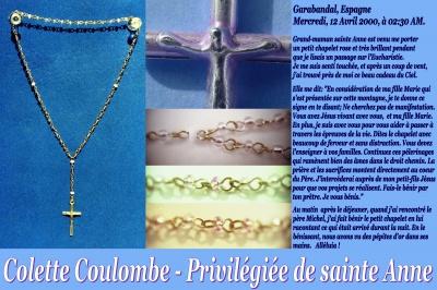 Les faveurs de Sainte Anne à Colette Coulombe ! Colett27