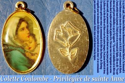 Les faveurs de Sainte Anne à Colette Coulombe ! Colett28