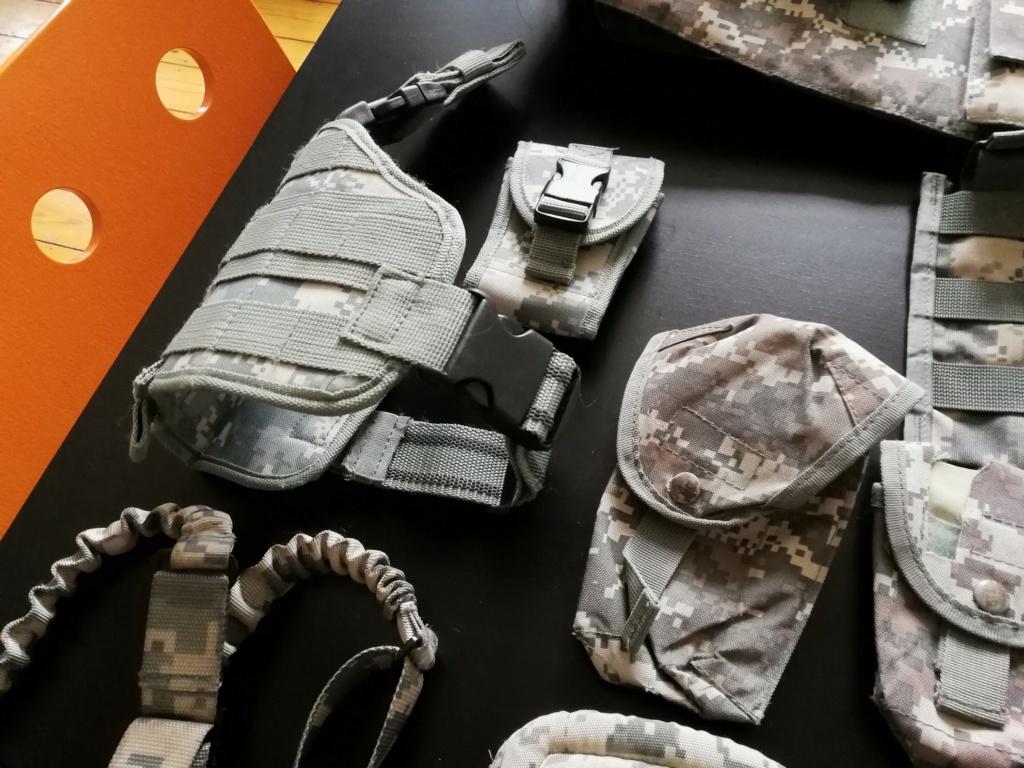 Arrêt airsoft - Vente matos complet (M4/Dragon 7 inch/ Barret Snow Wolf/ Equipement 33825612