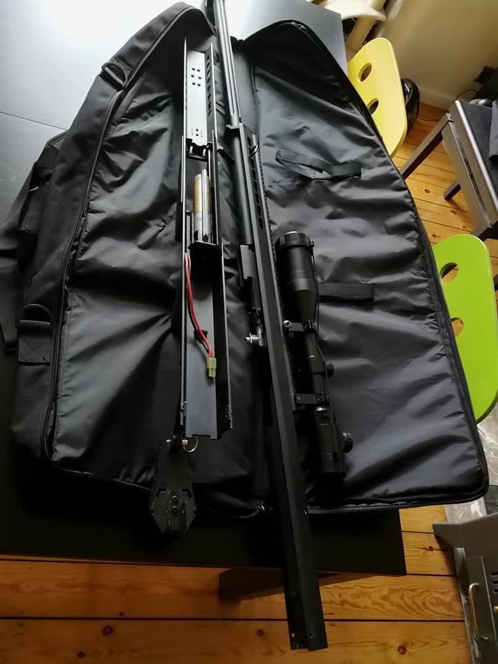 Arrêt airsoft - Vente matos complet (M4/Dragon 7 inch/ Barret Snow Wolf/ Equipement 33836511