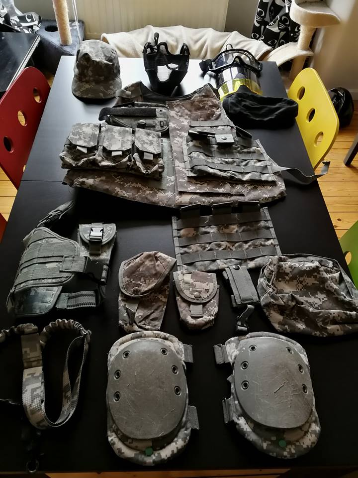 Arrêt airsoft - Vente matos complet (M4/Dragon 7 inch/ Barret Snow Wolf/ Equipement 33899711