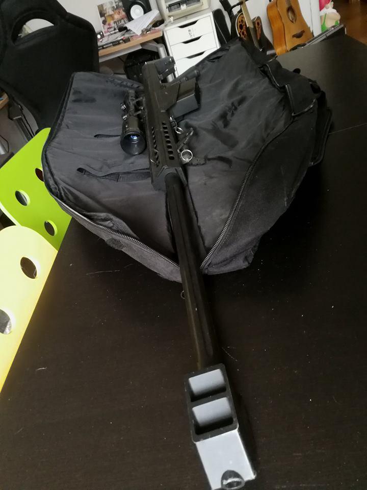 Arrêt airsoft - Vente matos complet (M4/Dragon 7 inch/ Barret Snow Wolf/ Equipement 33921011