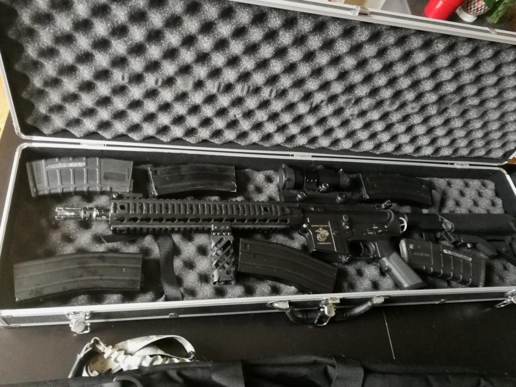 Arrêt airsoft - Vente matos complet (M4/Dragon 7 inch/ Barret Snow Wolf/ Equipement 33922611