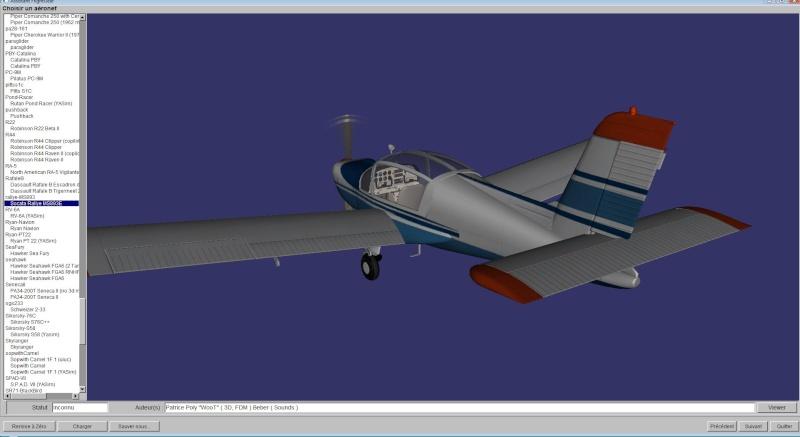 Comment je met une ombre à mes avions dans FlightGear (shadow). Lancem10