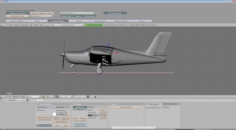 Comment je met une ombre à mes avions dans FlightGear (shadow). Raglag10