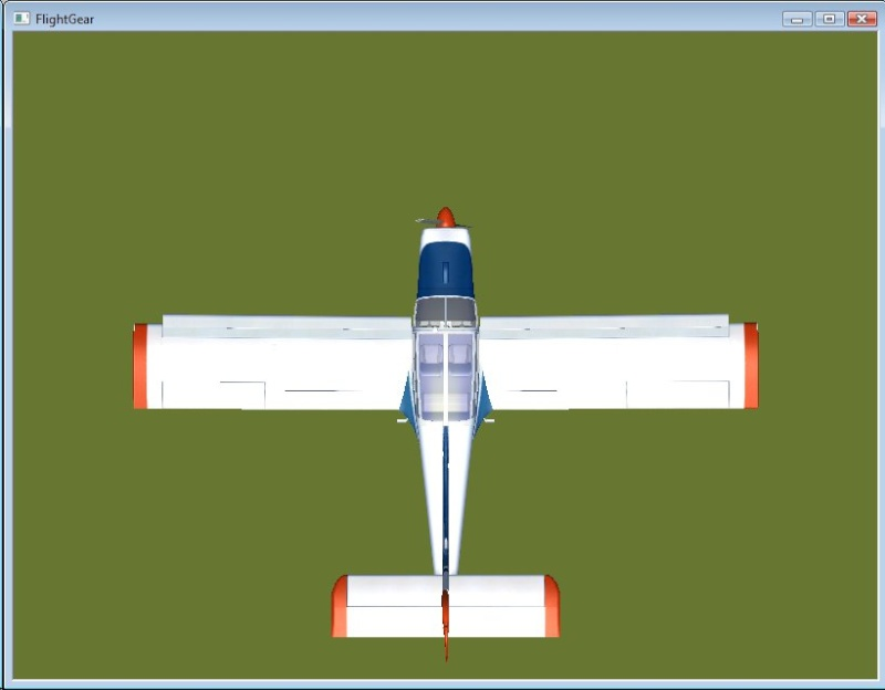 Comment je met une ombre à mes avions dans FlightGear (shadow). Rallye10
