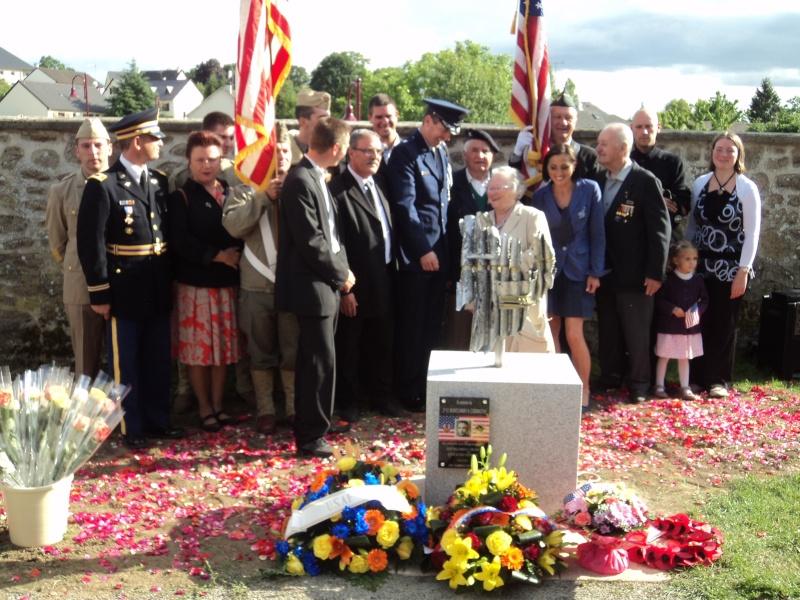 Inauguration et Cérémonie en Hommage au 2nd Lt. Montgomery A. Coddington 474th Fighter Group, KIA le 7 Juin 1944. Dsc02412
