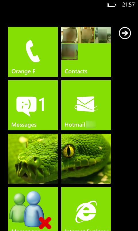[ASTUCE NODO] Faire une capture d'écran de nos WindowsPhone7 111