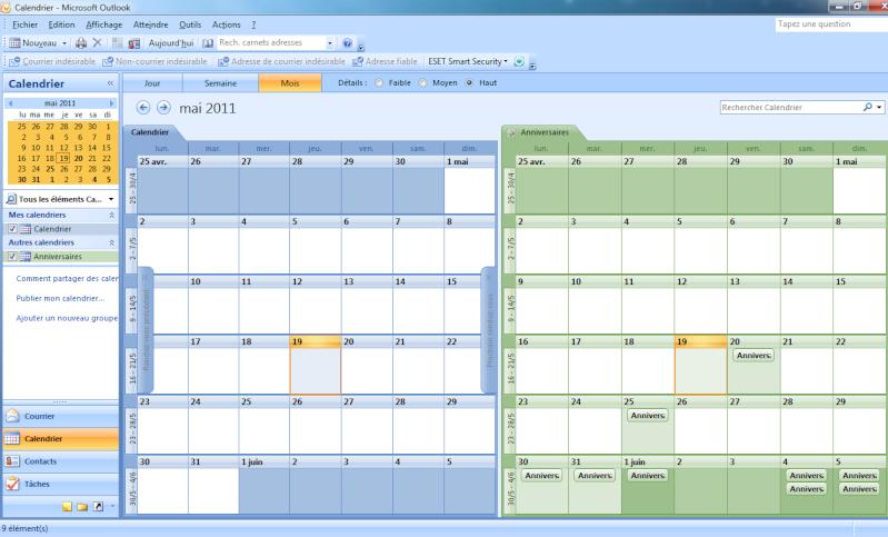 [TUTO] Anniversaires FaceBook dans votre calendrier WP7 511