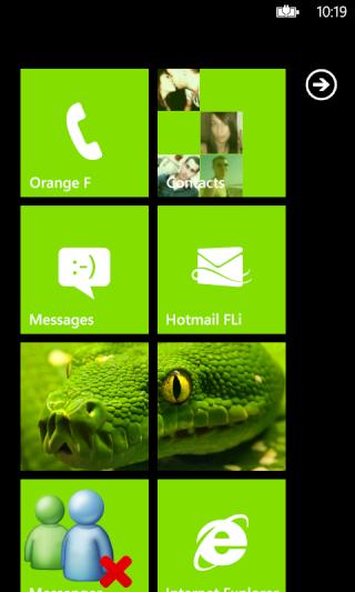 [ASTUCE NODO] Faire une capture d'écran de nos WindowsPhone7 Captur14