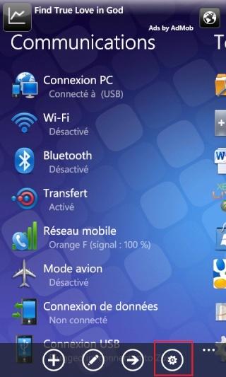 [ASTUCE NODO] Faire une capture d'écran de nos WindowsPhone7 Captur21