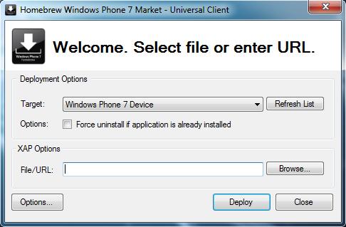 [ASTUCE] Mettre à jour une application .XAP déjà installée sur votre WP7 Tuto-m10