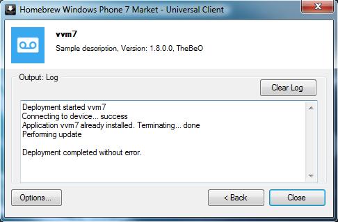 [ASTUCE] Mettre à jour une application .XAP déjà installée sur votre WP7 Tuto-m12