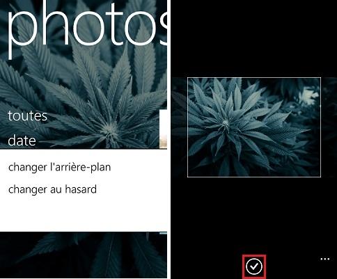 [ASTUCE] Choisir les images de votre Hub Photo (Tuiles Vs. Arrière Plan) Tuto_h11