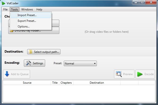 [TUTO] Encoder une vidéo HD pour votre WP7 Vidcod10