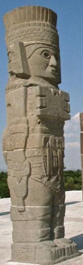 Tula et ses statues de guerriers Tula210