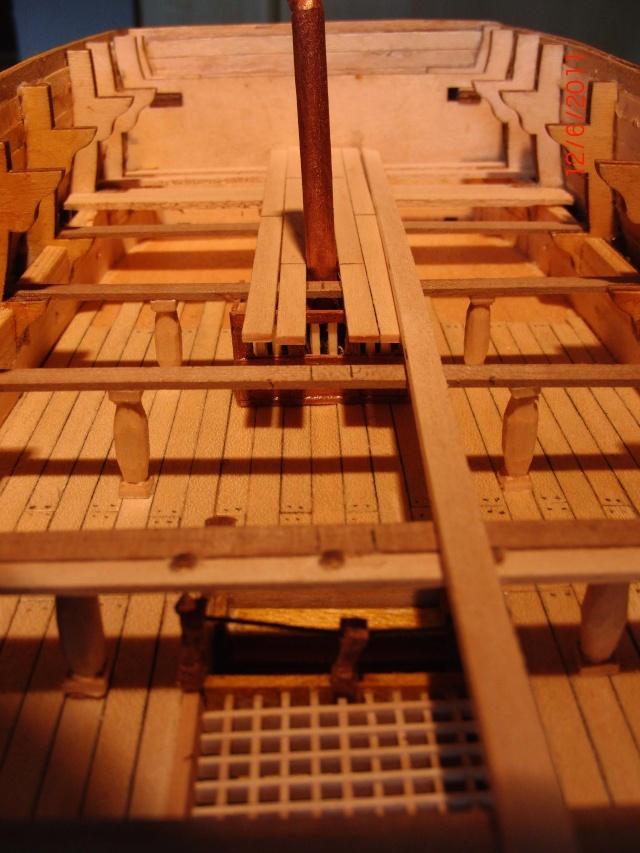 Huberts Baubericht Victory aus Holz Deck0210