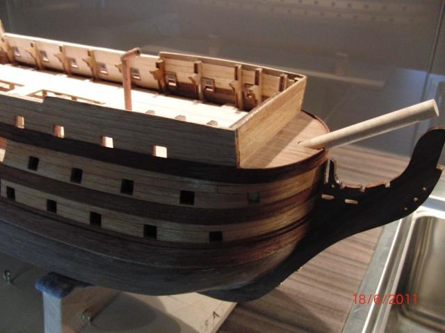Huberts Baubericht Victory aus Holz Deck0410