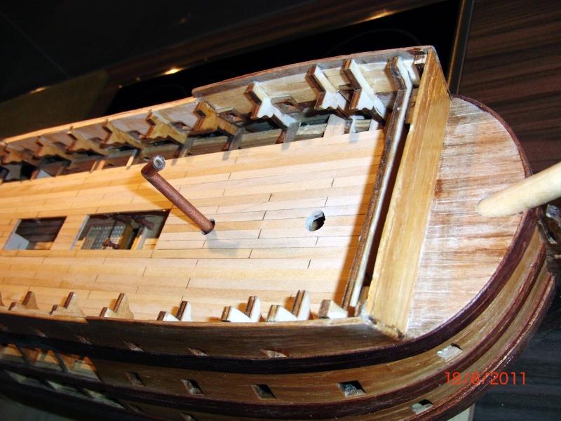 Huberts Baubericht Victory aus Holz Deck0510