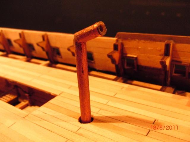 Huberts Baubericht Victory aus Holz Deck0610