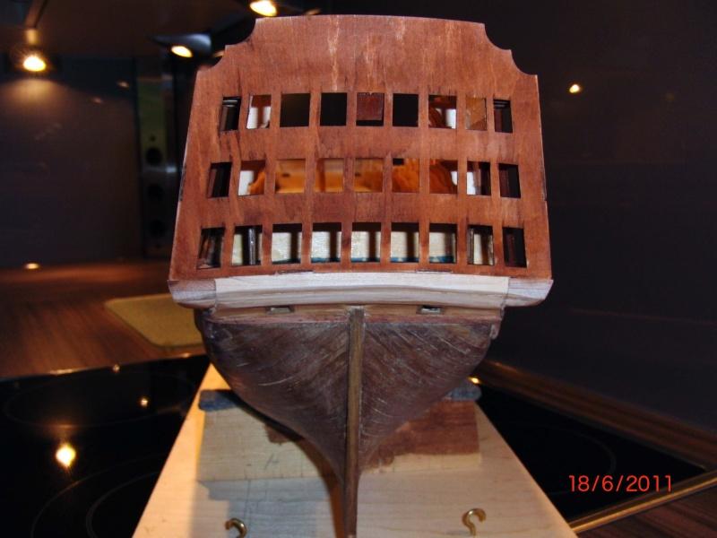 Huberts Baubericht Victory aus Holz Deck0710