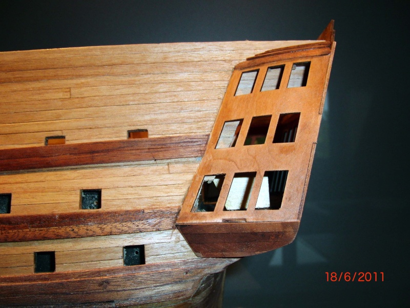 Huberts Baubericht Victory aus Holz Deck0810