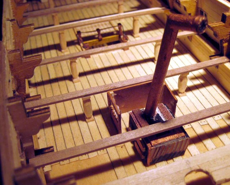 Huberts Baubericht Victory aus Holz Kombas12