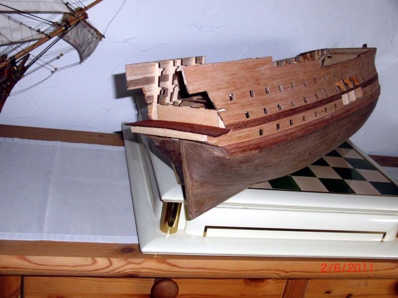 Huberts Baubericht Victory aus Holz Rumpf014