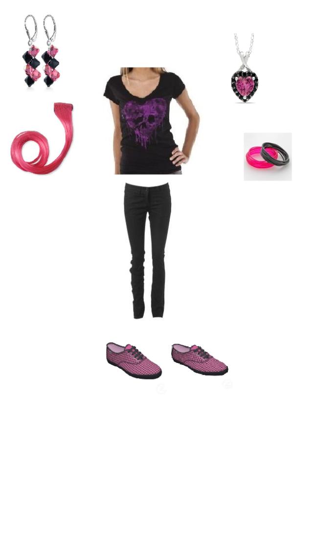 random outfit i put together Punk_r10