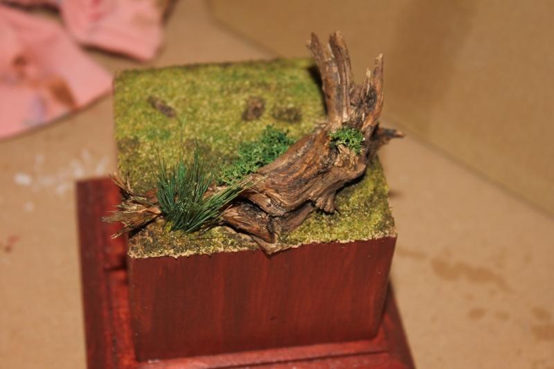 Atelier peinture à l'huile : le celte au carnyx Socle_11