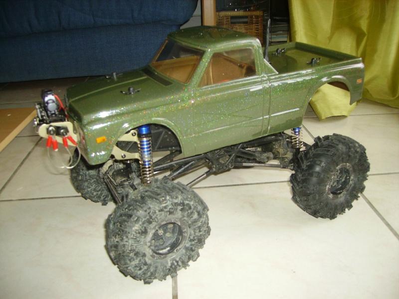 presentation de mon crawler king HPI Chevro11