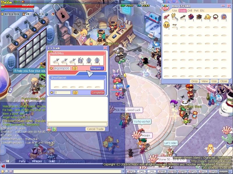 Trickster Online. Screen11