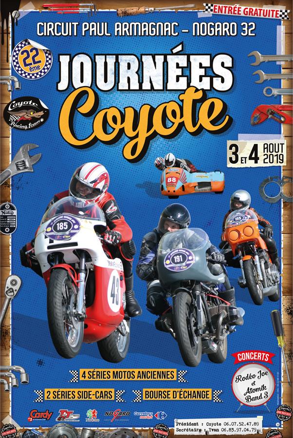 Les Journées Coyote 2019 auront lieu les 3 et 4 Août 2019  Coyote10
