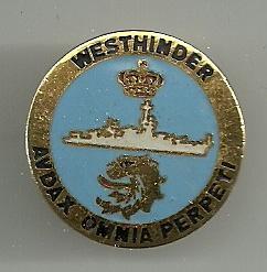 Crest du F913 WESTHINDER Pins0011