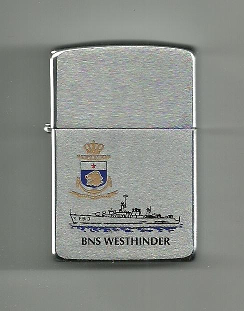 Crest du F913 WESTHINDER Zippo010