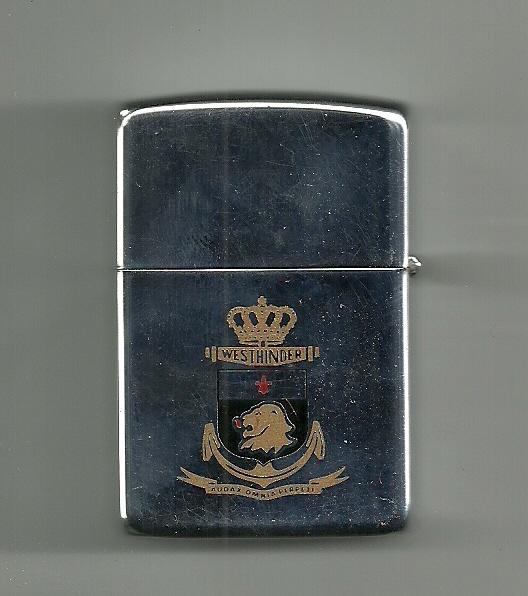 Crest du F913 WESTHINDER Zippo011