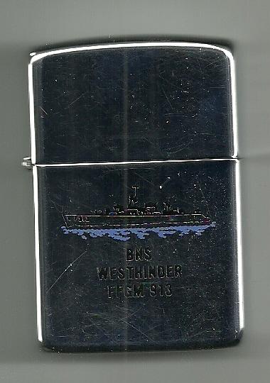 Crest du F913 WESTHINDER Zippo012